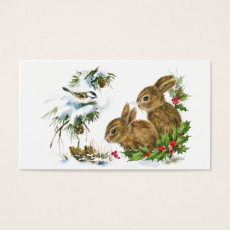 Winter Woodland Business Card