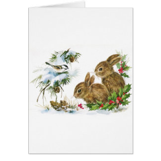 Winter Woodland Card