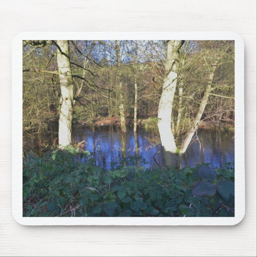 Winter Woodland Mouse Pad