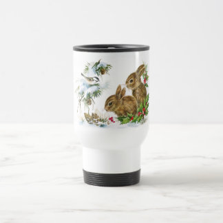 Winter Woodland Travel Mug