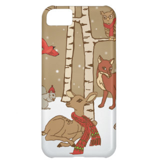 Winter Woods iPhone 5C Cover