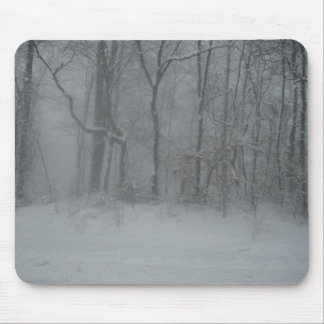 Winter Woods Mouse Pad