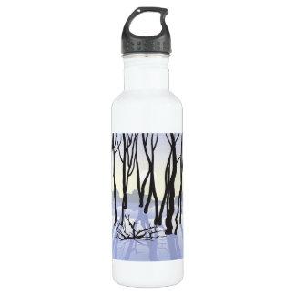 Winter Woods Water Bottle