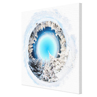 Winter World #2 Gallery Wrapped Canvas