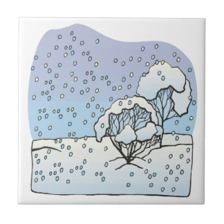 Winter World Ceramic Tile