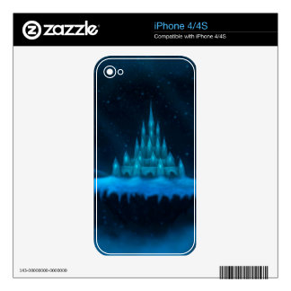 winter world holiday fantasy skin for the iPhone 4