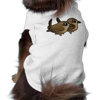 Winter Wren Pair Doggie Shirt