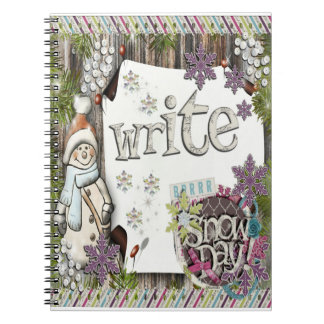 Winter Writing - Snowy Day Note Book