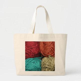 Winter Yarn Bag
