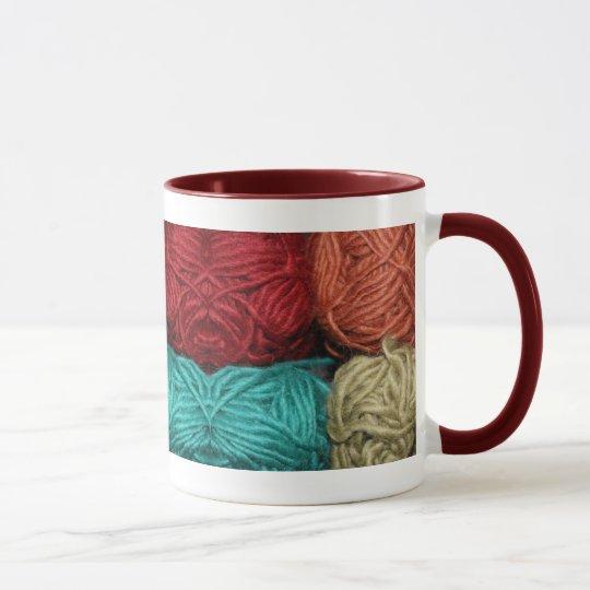 Winter Yarn Mug