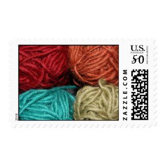 Winter Yarn Stamp