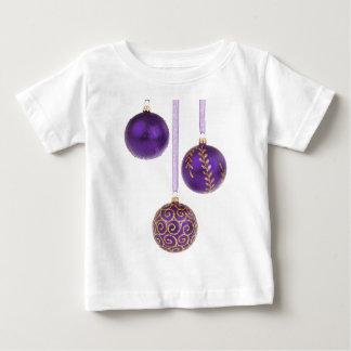 Winterberry Amethyst Purple Lavender Christmas Baby T-Shirt
