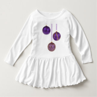 Winterberry Amethyst Purple Lavender Christmas Dress