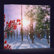 Winterberry in Ice Binder