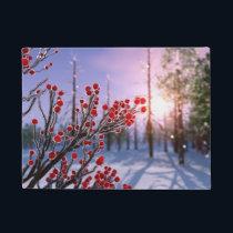 Winterberry in Ice Doormat