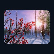 Winterberry in Ice Flexible Magnet