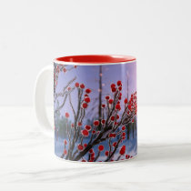 Winterberry in Ice Mug
