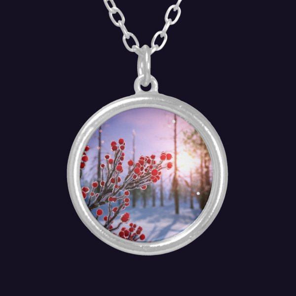 Winterberry in Ice Necklace
