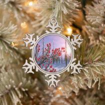 Winterberry in Ice Ornament