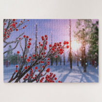 Winterberry in Ice Puzzle