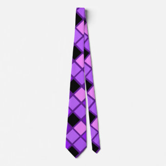 Winterberry Lavender Purple Harlequin Designer Tie