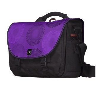 Winterberry Plum Violet Lace Doily Bags For Laptop