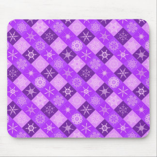Winterberry  Snowflake Collection Christmas Mouse Pad