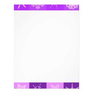 Winterberry  Snowflake Collection Letterhead