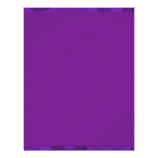 Winterberry Violet Lace Doily Custom Letterhead