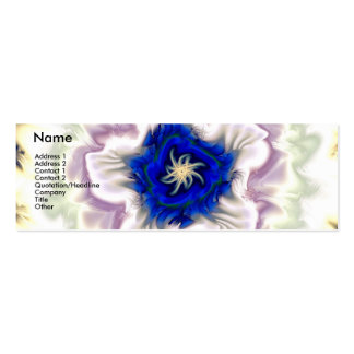 Winterbluete Mini Business Card