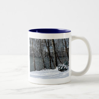 winterchairs Two-Tone coffee mug