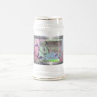 winterfairy garden beer stein
