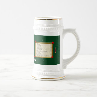 Winterfest Back Covers Beer Stein