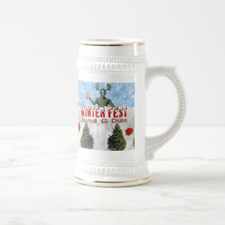 winterfest CD cover Beer Stein