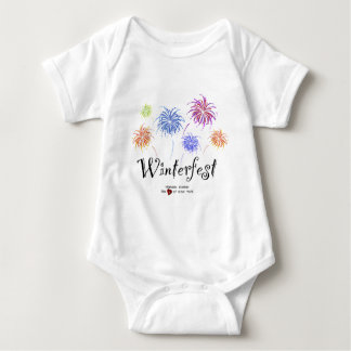 Winterfest Fireworks Cotton Jersey Infant Creeper
