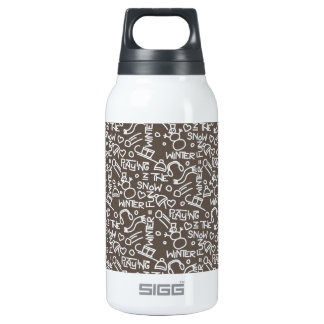 Wintergames Decoration Insulated Water Bottle