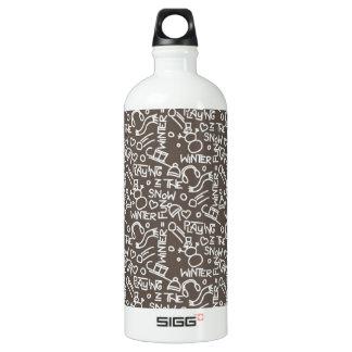 Wintergames Decoration Water Bottle