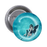 Wintergreen Moon Button