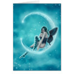Wintergreen Moon Card