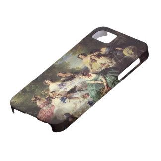 Winterhalter-Emperatriz Eugenie de Francisco con iPhone 5 Case-Mate Fundas