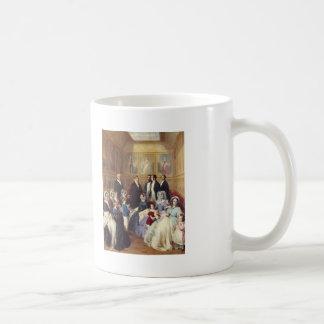 Winterhalter-Reina Victoria de Francisco y Príncip Tazas De Café