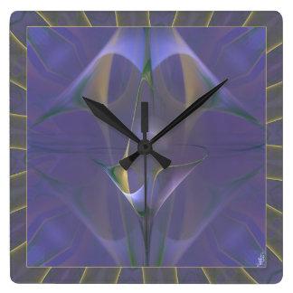 Winterini Faery Martini Art Square Wall Clock