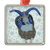 Winterland Sheep Ornament