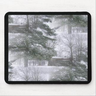 Winterland Snowtrees Tapete De Ratón