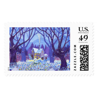 Winterlands 2012 postage
