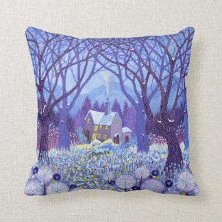 Winterlands 2012 throw pillow