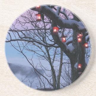 Winterlight coasters By Seay