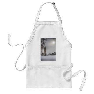 winterlighthouse adult apron