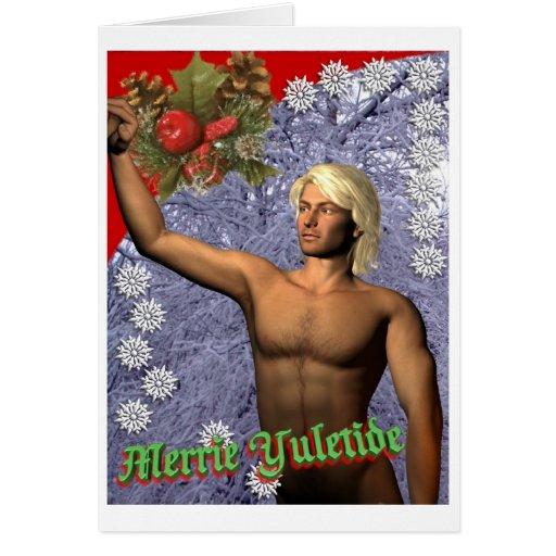 Winter's Angel Greeting Card