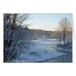 Winter's Breath Note Card